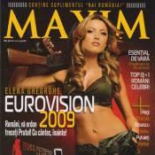 Elena Gheorghe, la Roumaine de l'Eurovision, n'a pas dit son dernier mot : elle dégaine tous ses charmes !