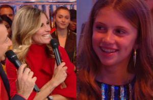 Sophie Thalmann : Séquence émotion à la télévision avec sa fille Charlie, 13 ans