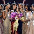 Catriona Gray (Philippines) remporte le titre de Miss Univers 2018 à l'Impact Arena à Bangkok. Le 17 décembre 2018.