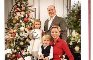 Charlene et Albert de Monaco : Jacques et Gabriella, stars de la carte de voeux