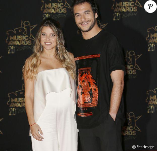 Lital et Amir Haddad - 20ème cérémonie des NRJ Music Awards au Palais des Festivals à Cannes. Le 10 novembre 2018 © Christophe Aubert via Bestimage