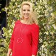 Elodie Gossuin-Lacherie - People au village lors des internationaux de tennis de Roland Garros le 28 mai 2018.