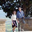 Letizia et Felipe lors de leur lune de miel à San Sebastian le 25 mai 2004