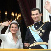 Letizia d'Espagne et Felipe, retour en images sur six ans d'amour...