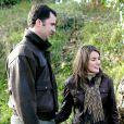 Letizia et Felipe en décembre 2003 lors d'un week-end à la campagne, l'amour fou.