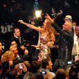 Les 51 ans de Christian Audigier, ici avec sa femme Ira, au VIP Room de Cannes, le 21 mai 2009 !