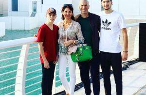 Zinédine Zidane et ses fils torse nu pour célébrer un anniversaire