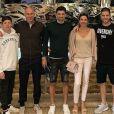 Zidane en famille pour fêter Noël à Dubaï. Instagram, le 25 décembre 2018.
