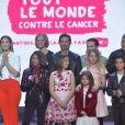 """Exclusif - Kids United - Enregistrement de l'émission """"Tout le monde chante contre le cancer : les stars relèvent le défi"""" au Palais des Sports à Paris, le 11 décembre 2018. Diffusion le 3 janvier 2019 à 21h sur W9."""