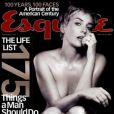 Sharon Stone en couverture du magazine Esquire