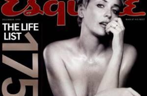Sharon Stone : une comédienne peu farouche... Regardez ses clichés très sexy !