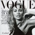 Sharon Stone en couverture du magazine Vogue