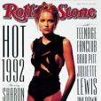 Sharon Stone en couverture de Rolling Stone