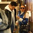 Mariah Carey et Bryan Tanaka font du shopping à Aspen. Le 22 décembre 2018.