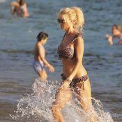 Victoria Silvstedt torride en bikini à Saint-Barthélemy : Une vraie sirène !