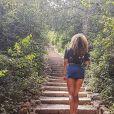 Anaïs Grangerac en petit short - Instagram, 20 juillet 2018