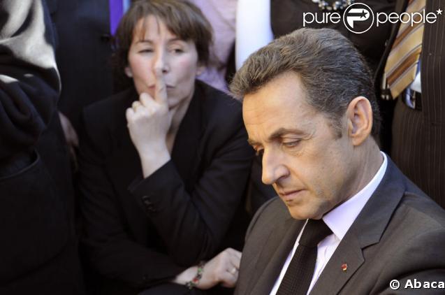 Fadela Amara et Nicolas Sarkozy