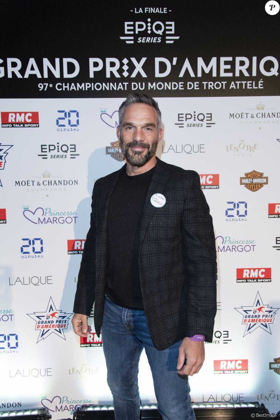 Exclusif - Philippe Bas - Soirée de du 97ème Grand Prix d'Amérique à l'Hippodrome de Vincennes le 21 novembre 2017. © Pierre Perusseau/Bestimage