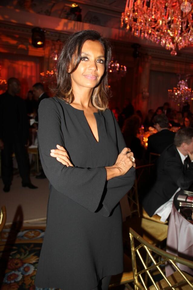 Karine Le Marchand - Dîner de la 41ème édition du Prix The Best à l'hôtel George V à Paris le 25 janvier 2018. © Philippe Baldini/Bestimage