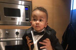 Chrissy Teigen : Son fils Miles, adorable en smoking pour l'anniversaire de papa