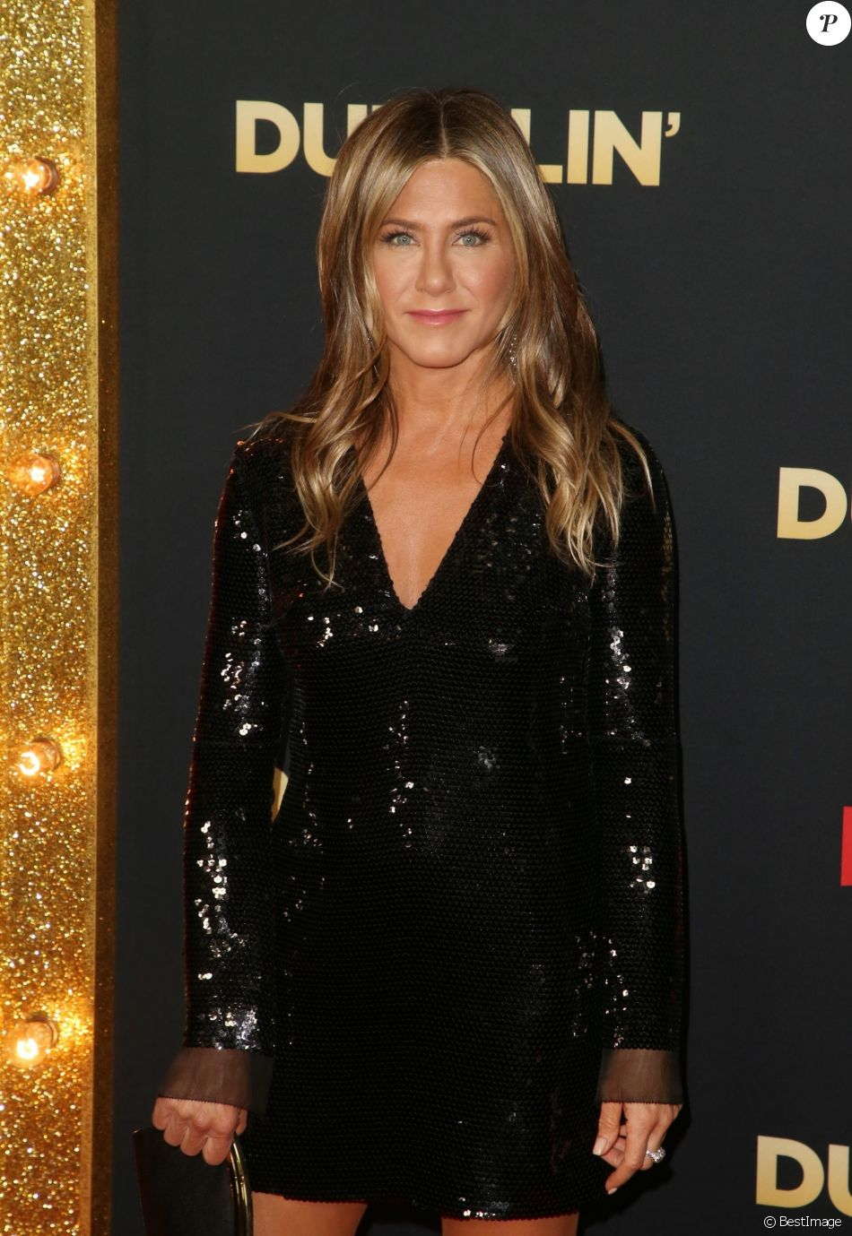 "Jennifer Aniston à la première du film ""Dumplin"" au TCL Chinese 6 Theater à Los Angeles, Californie, Etats-Unis, le 6 décembre 2018."