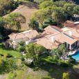 Vue aérienne de la villa de Heather Locklear à Thousand Oaks.