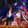 L'ouverture de la cérémonie lors de la 43ème édition du festival international du cirque de Monte-Carlo le 18 janvier 2019. © Olivier Huitel