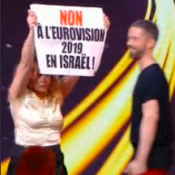 Destination Eurovision 2019 : Des manifestants envahissent la scène en direct