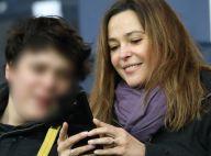 PSG-Guingamp : Sandrine Quétier et Cathy Guetta complices avec leurs fils