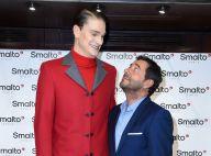 Bernard Montiel et Yannick Agnel : Drôle de rencontre à la Fashion Week de Paris
