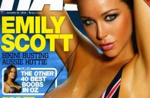 La bimbo australienne Emily Scott... un corps à damner enfin dévoilé !