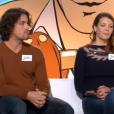 """Julien (""""12 Coups de midi"""") dans """"Les Z'amours"""" avec son épouse Julie. Le 22 janvier 2019."""