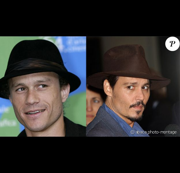 Heath Ledger et Johnny Depp