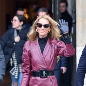 Céline Dion : Look sexy pour du shopping chez Givenchy