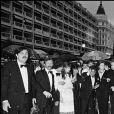 Macha Méril et Michel Legrand réunis au Festival de Cannes en 1981.