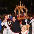 Image des célébrations de Sainte Dévote dans la soirée du samedi 26 janvier 2019. © Bruno Bebert/Bestimage