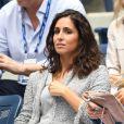 Xisca Perello au match de tennis Rafael Nadal contre Juan Martin Del Potro lors des demi finales de l'US Open à New York le 7 septembre 2018.