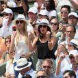 Xisca Perelló, la compagne de Rafael Nadal - People dans les tribunes lors des internationaux de tennis de Roland Garros à Paris le 4 juin 2018  Celebrities at Roland Garros french open in Paris on June 4, 2018.04/06/2018 - Paris