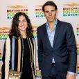 Rafael Nadal et Maria Francisca (Xisca/ Mery) Perello lors du Goed Geld Gala à Amsterdam le  15 février 2018.