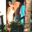 Rafael Nadal et Maria Francisca (Xisca/ Mery) Perello en vacances avec un groupe d'amis sur l'île de Cozumel au Mexique du 27 février au 2 mars 2014.