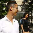 Exclusif - Cristiano Ronaldo et sa compagne Georgina Rodriguez font du shopping dans les rues de Madrid, quelques jours avant la finale de la Ligue des Champions. Le 30 mai 2017.