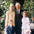 La famille Spelling au grand complet au temps du bonheur
