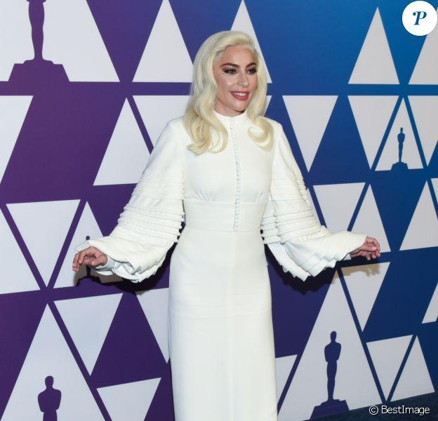 Lady Gaga assiste au 91ème déjeuner des nominés aux Oscars au Beverly Hilton. Beverlly Hills, Los Angeles, le 4 février 2019. © AdMedia/Zuma Press/Bestimage