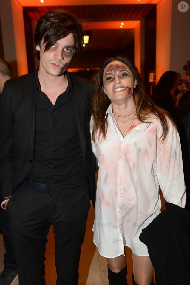 """Semi-Exclusif - Capucine Anav et Alain-Fabien Delon - Soirée """"Fanta Halloween Show"""" à Paris, le 31 octobre 2018. © Veeren/Bestimage"""