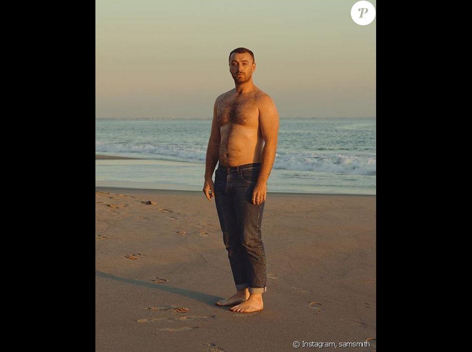 Sam Smith pose torse nu sur Instagram, le 12 février 2019