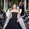 Bella Hadid - Défilé Oscar de la Renta lors de la Fashion Week automne-hiver 2019/2020 à New York, le 12 février 2019.
