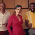 """Léa Salamé dans le clip de """"L'Interview"""", le 13 février 2019."""