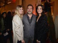Gilles Lellouche et Alizée : Couple stylé face à Iris Mittenaere décontractée