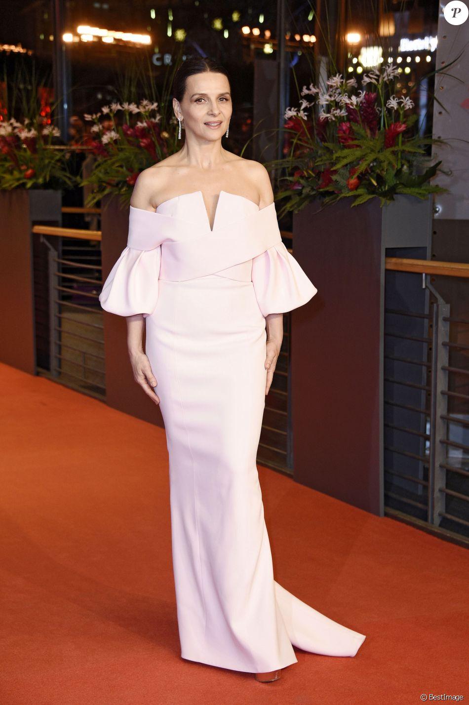 Juliette Binoche (Robe Balmain, bijoux Chopard) - Cérémonie de clôture du 69ème Festival International du Film de Berlin (Berlinale) le 16 février 2019 16/02/2019 - Berlin