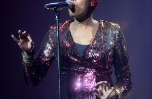 Imany enceinte : La chanteuse,